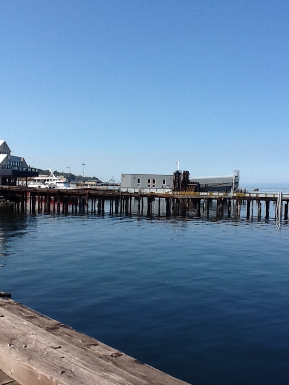 Pier and port at Port Angeles