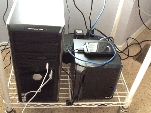 My computer & home server