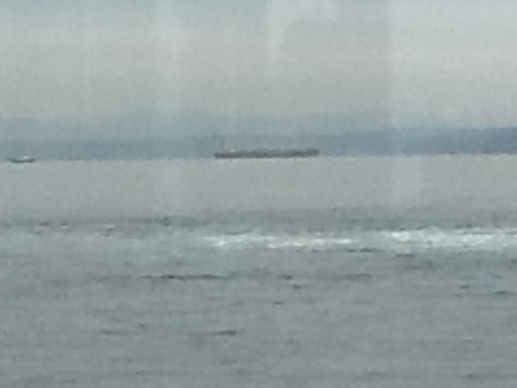 Traffic on the Sound