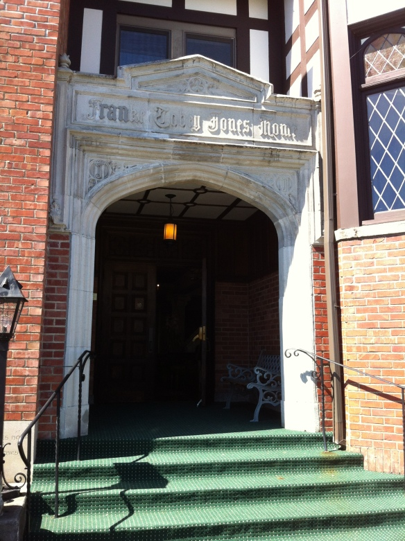 Original entrance to original building