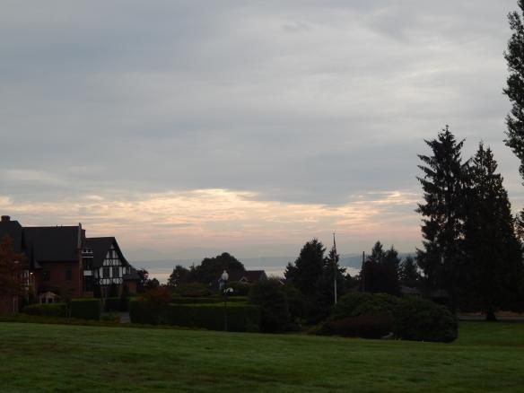 X-Sunrise over the Sound