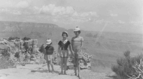 Abbie, Harriet, & Betty at the Grand Canyon