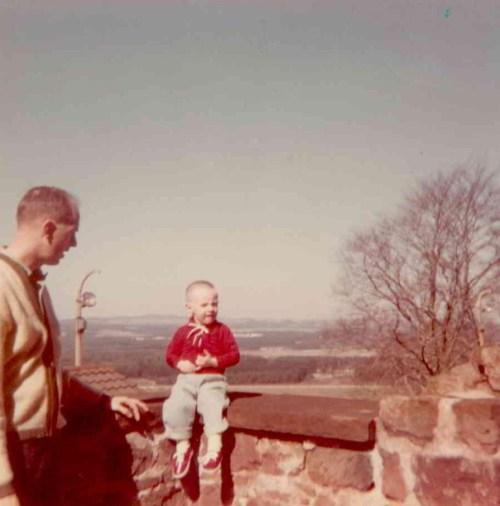Al & Ray at Landstuhl Castle