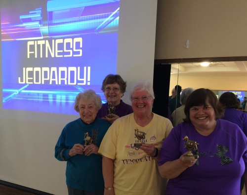 Fitness Jeopardy Champs